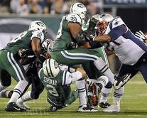 Vince Wilfork New England Patriots creates butt fumble