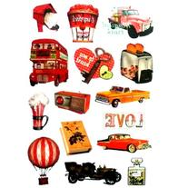 NAVA Vintage Ballon Radio Bus Perfume Luggage Skateboard