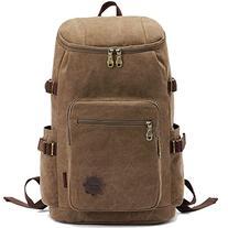 KAUKKO Vintage Canvas Backpack Classic Backpacks Casual