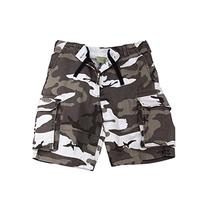 Rothco Vintage Paratrooper Shorts, City Camo, Large