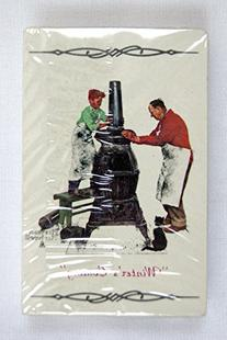 Vintage Norman Rockwell Winter's Coming The Coal Season's
