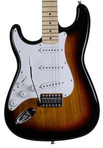 Jameson Full Size Vintage Sunburst Electric Guitar With