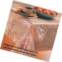 Carnation Home Fashions Oblong Vinyl Tablecloth Protector,