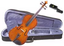 Music Basics Violin Complete Kit with Free Tuner - 1/16 Size