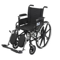 Drive Medical Viper Wheelchair with Various Flip Back Desk