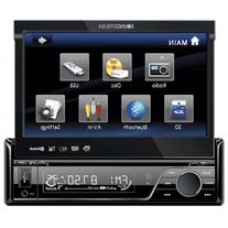 Soundstream VIR-7830B Single-Din Bluetooth Car Stereo DVD