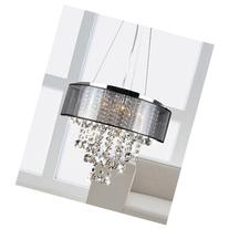 Jojospring Visalia Translucent Shade 9-light Crystal