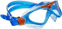Aqua Sphere Vista Junior Swim Mask with Clear Lens, Lightblue/Orange