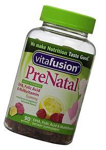 Vitafusion PreNatal, Gummy Vitamins, Berry, Lemon & Cherry