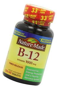 Nm B-12 1000 Mcg Size 160ct Nature Made Vitamin B-12 1000mcg