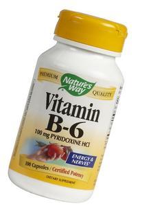 Vitamin B-6  100 mg 250 Caps