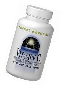 Source Naturals Vitamin C Sodium Ascorbate Crystals,