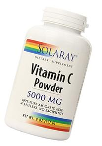 Vitamin C Crystalline Powder Solaray 8 oz Powder
