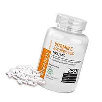 Bronson Vitamin C 1000 mg Premium Non-GMO Ascorbic Acid, 250