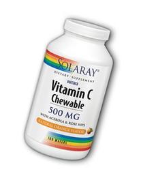 Vitamin C-500 Chewable Orange - 100 - Wafers