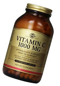 Solgar Vitamin C Vegetable Capsules, 1000 mg, 250 Count