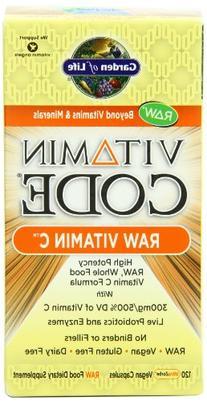 Garden of Life Vitamin C - Vitamin Code Raw C Vitamin Whole