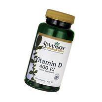 Swanson Vitamin D 400 Iu  250 Sgels
