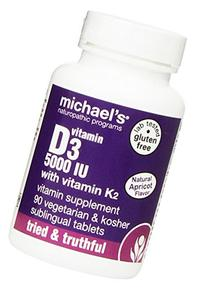 Michael's Naturopathic Progams Vitamin D3 5000 IU with