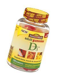 Nm Adult Gummies Vit D3 Size 90ct Pv Adult Gummies Vit D3 90ct