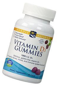 Nordic Naturals - Vitamin D3 Gummies, Healthy Bones, Mood,