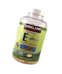 Vitamin E 400 Iu 500 Softgels Supports Healthy Immune