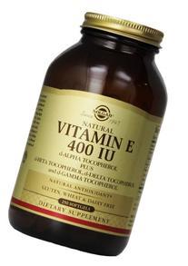 Solgar Vitamin E 400 IU Mixed Softgels D-Alpha Tocopherol