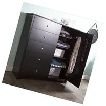 South Shore Vito Dr Chest w/5 Drawers Pure Black