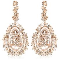 SUZANNE KALAN Vitrine Earrings - Rose Gold