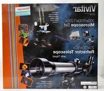 Vivitar VIV-TELMIC-20 20x/30x/40x Telescope and Microscope