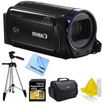 Canon VIXIA HF R700 Full HD Black Camcorder Deluxe Bundle -