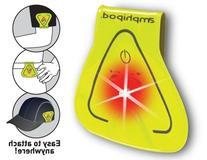 Amphipod Vizlet Wearable Triangle LED Reflector Clip On