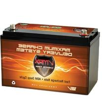 Vmaxtanks Vmaxslr125 AGM Deep Cycle 12v 125ah SLA