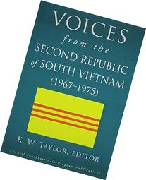 Voices from the Second Republic of South Vietnam