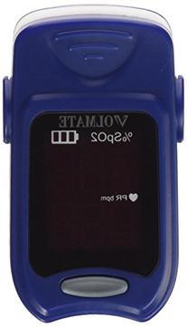 Volmate VOL600-BLUE VOL60A Pulse Oximeter Finger Pulse Blood