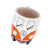 Volkswagen - Orange Ceramic Shaped Coffee Mug / Cup