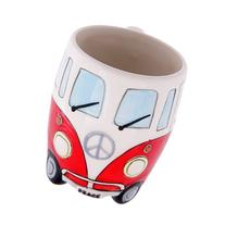Volkswagen - Red Ceramic Shaped Coffee Mug / Cup