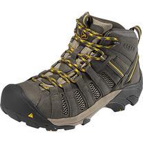 KEEN Voyageur Mid Hiking Boot - Men's Raven/Tawny Olive, 10.