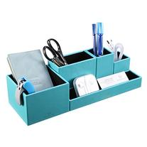 VPACK Leatherette 5-Compartment Multifunctional DIY Office