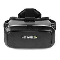 SainSonic 3D VR Glasses, 3D VR Headset Virtual Reality Box