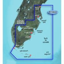 New-GARMIN VUS011R SOUTHWEST FLORIDA BLUECHART G2 VISION -