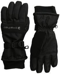 Carhartt Men's W.P. Waterproof Insulated Work Glove, Black,