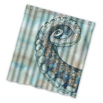 """66"""" x 72"""" Cute Octopus Tentacle Arms Theme Print 100%"""