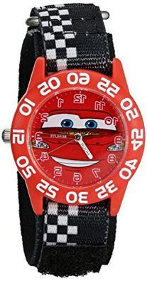 """Disney kids' W001197 """"Time Teacher"""" Cars Watch With"""