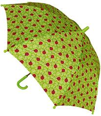 RainStoppers W104 Kid's Bug Print Arc Umbrella, Multi, 32