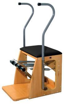 """3B Scientific W15127B Black Wood Pilates Combo Chair, 29"""""""