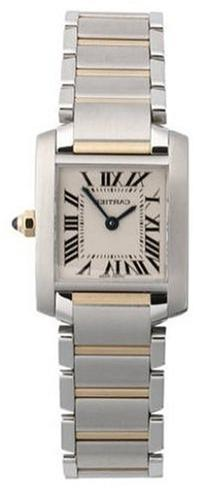 Cartier Women's W51007Q4 Tank Francaise Stainless Steel and