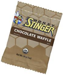 Honey Stinger Stinger Waffle Chocolate 16-1oz  Waffles