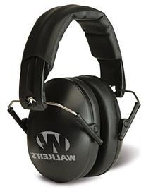 Walker's Game Ear Low Profile Folding Muff, Black