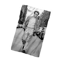 James Dean Walking Sublimation Fleece Blanket